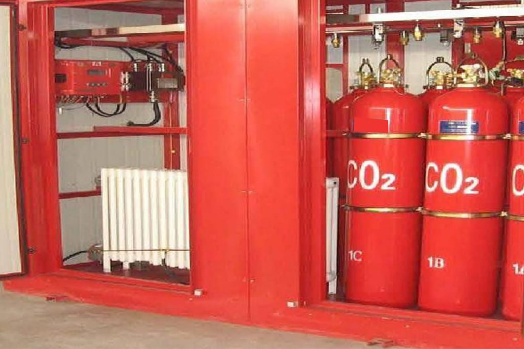 Carbon Dioxide Fire Suppression System