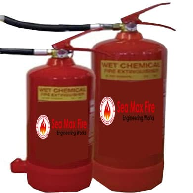 Wet Chemical Fire Extinguisher Refilling